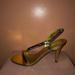 Bandolino Shoes - Bandolino bdrayonna gold synthetic size 8